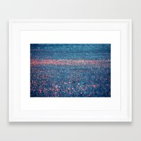 Pink Lawn Framed Art Print