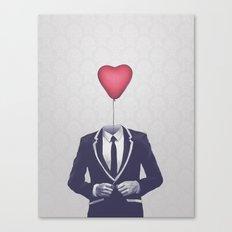 Mr. Valentine Canvas Print