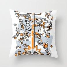 game grumps Throw Pillow