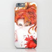Peepin' Strawberries iPhone 6 Slim Case