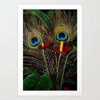 Birds Of A Feather 1 Art Print