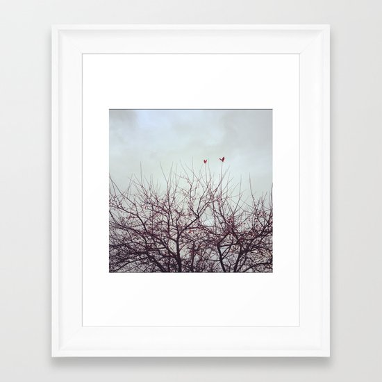 Winter's Breath Framed Art Print