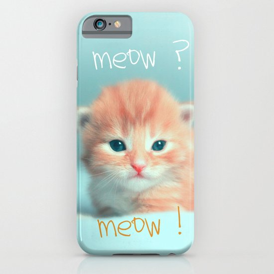 CAt iPhone & iPod Case