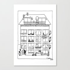 So Much Room for Activities Canvas Print