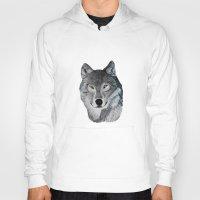Wolf portrait Hoody