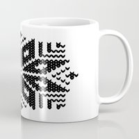 knit flake Mug