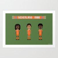 Netherlands 1988 Art Print