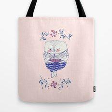 strawberry cat Tote Bag