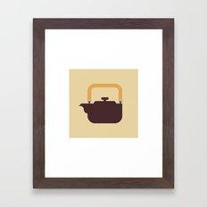 Japan Teapot Framed Art Print