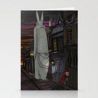 Schlepping Towards Bethlehem Stationery Cards