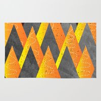 Light of the mountains Rug