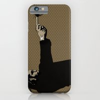 iPhone & iPod Case featuring Kittappa Series - Brown by Trevor Bittinger