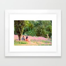 And The Wall Fell Framed Art Print