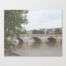 Paris, framed views  Canvas Print