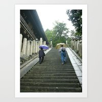 Japanese and Tourist Art Print
