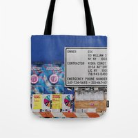 Street Collage I Tote Bag