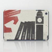 V for Vendetta, Alternative Movie Poster iPad Case