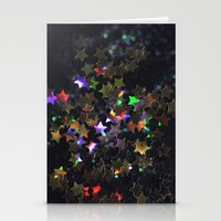 Starry Starry Night Neon… Stationery Cards