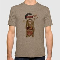 L'homme Moderne Mens Fitted Tee Tri-Coffee SMALL