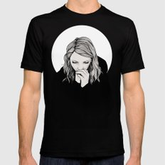 Eliot Mens Fitted Tee Black SMALL