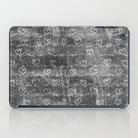 Heart Wave Metallic iPad Case