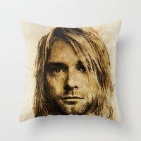 Kurdt Throw Pillow