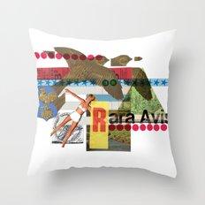 Rara Avis Throw Pillow