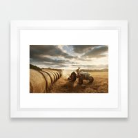 Farmer Framed Art Print