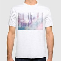 This World We Found Mens Fitted Tee Ash Grey SMALL