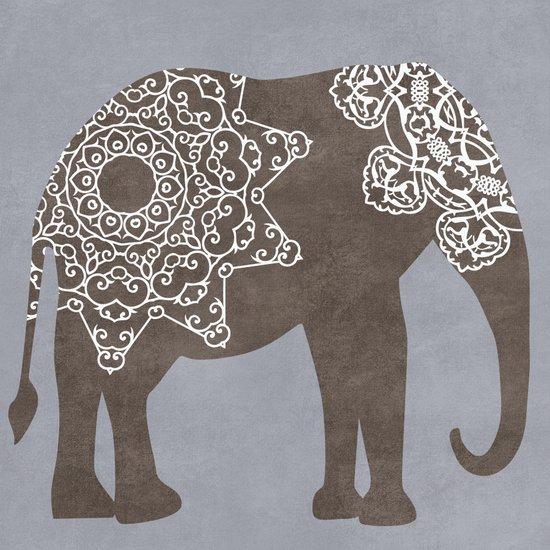 Brown Elephant Art Print