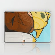 Laptop & iPad Skin featuring Go Get 'em, Kid by The Art Of Danny Haa…