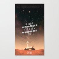 Wanderers - MSL/Curiosit… Canvas Print