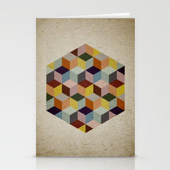 Dimension Stationery Card