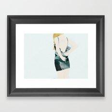 THE DRESS Framed Art Print