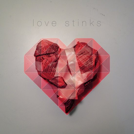 Love Stinks Canvas Print