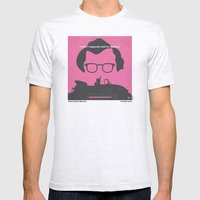 No147 My Annie Hall minimal movie poster Mens Fitted Tee Ash Grey SMALL