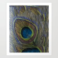 One Of A Feather. Art Print
