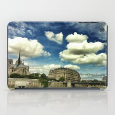 From the river Seine iPad Case