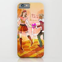 iPhone Cases featuring Shopping by hazukei