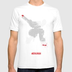 Metal Gear Solid - If you understand this .. it hurts (2) Mens Fitted Tee White SMALL
