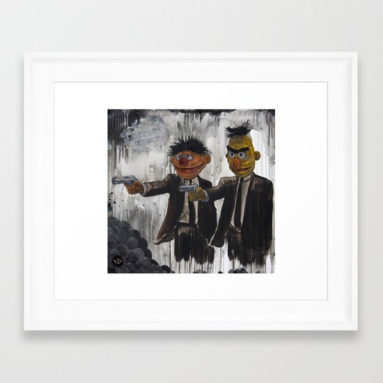 Pulp Street Framed Art Print