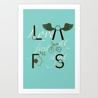 Love At First Sight And … Art Print