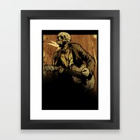 We're Gonna Raise A Ruck… Framed Art Print