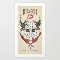 Jellyroll #13: Jason Art Print