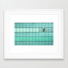 Ropes and Ladders Framed Art Print