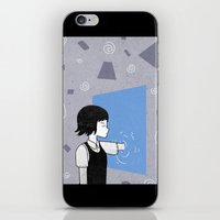 She and portals iPhone & iPod Skin