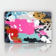 Charlotte - Abstract Pai… Laptop & iPad Skin