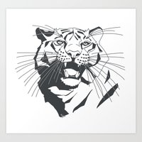 TIGER K01 Art Print