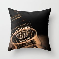 Jack Daniels Whisky Throw Pillow