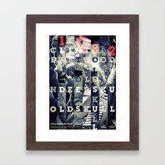 Grandpa Cowboy Framed Art Print